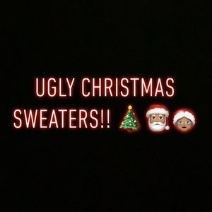 UGLY CHRISTMAS SWEATER SHOP.🎅🏽🎄🤶🏽